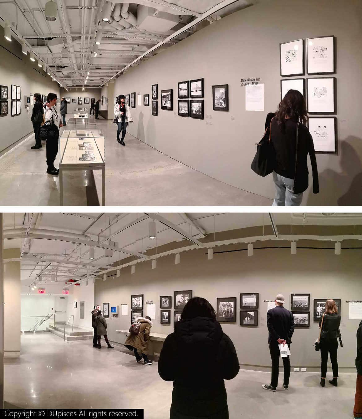 紐約當代攝影中心,二戰時期日裔美國人生活攝影展